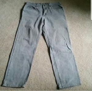 Men's LEE Tan Colorway Jean's. Size 38 X 34
